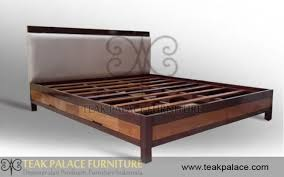Dipan Kayu Kalimantan tempat tidur minimalis modern desain terbaru kayu jati jual kursi
