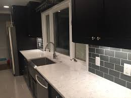 customer review of black cabinets looking great