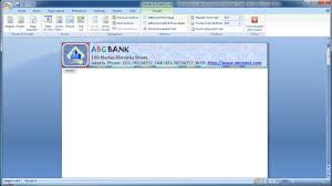 Home Design Software Microsoft Microsoft Word Tutorial How To Quickly Design Your Own Letterhead