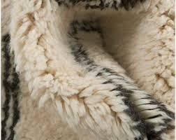Hersteller Von Wohnzimmerm Eln Weißer Berber Beni Ourain Teppich Anpassbare Muster In Fünf