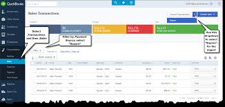 quickbooks online and square register page 3 of 3 accountex report