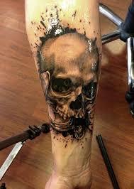 right forearm skull idea