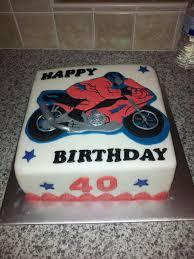 motorbike birthday cake cake by sharonscakecreations cakesdecor