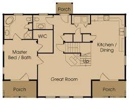 log cabin plan castlerock log cabin plan by honest abe log homes inc