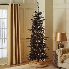 pier 1 imports black pre lit tree 6 5 polyvore