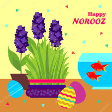 norooz greeting cards happy norooz new year greeting card template stock