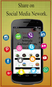 Cowboy Christmas Party Invitations - party invitation card maker android apps on google play