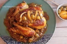 overblog cuisine marocaine poulet mhamer poulet à la marocaine cuisine marocaine