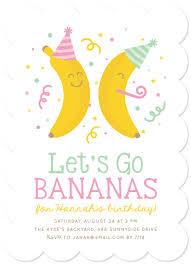 Backyard Birthday Party Invitations Birthday Party Invitations Banana Party At Minted Com
