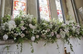 Church Flower Arrangements Pippa Middleton Wedding Flowers Fill Church Where She Wed Daily
