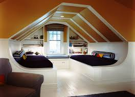 ideas inspiration amusing guys attic bedroom double white bed