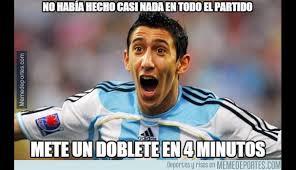 Meme Deportes - argentina vs paraguay los mejores memes que dej祿 la goleada