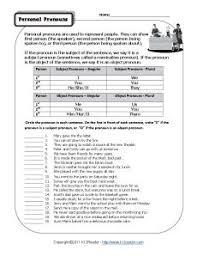 reflexive pronouns teaching pinterest pronoun worksheets