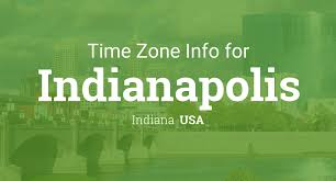 Time Zone Map Indiana by Daylight Saving Time Dates For Usa U2013 Indiana U2013 Indianapolis