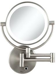 conair led lighted mirror led magnifying mirror magnifying mirror with light and magnifying