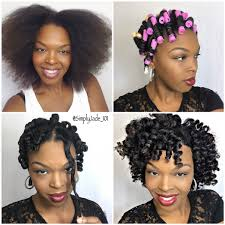 Black Natural Curly Hairstyles For Medium Length Hair Perm Rod Set Pictorial For Short Medium Length Hair Full Tutorial