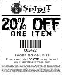 Halloween Costumes Promo Code Spirit Halloween Coupons Grab Printable Coupons