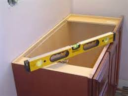 How To Install Vanity Cabinet Outlines The Steps To Install A Single Cabinet One Piece Bath
