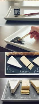 painted serving platters diy chalkboard serving platter wit whistle