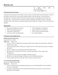 Inventory Skills Resume Coordination Skills Resume Resume For Your Job Application