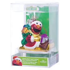 sesame ornament elmo ornaments retrofestive ca