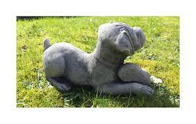 boxer puppy cast garden ornament statue sculpture