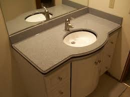 Bathroom Vanity Counter Top Lovely Alluring Bathroom Vanity Tops Option Ideas Within