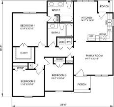 1 bedroom cottage floor plans best plan design for 1 floor minimalist home 4 home ideas
