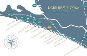 florida towns map map of 30 a discover 30 a with a map of 30 a neighborhoods