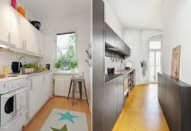 cuisine sol parquet design interieur comment amenager cuisine longueur blanche