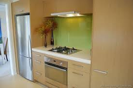 Kitchen Splash Guard Ideas Kitchen Of The Day Modern Light Wood Kitchens Green Glass