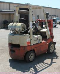 nissan datsun 4000 forklift item h3597 sold june 12 mid