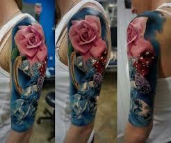 17 best flower sleeve tattoos images on floral