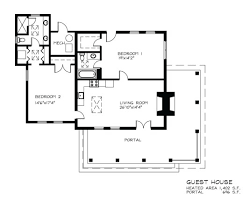 Small Guest House Floor Plans 4 Small Guest House Plan Floor Plans Of Sumptuous Design