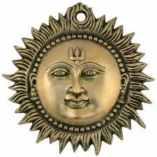 buy sun wall hanging brass metal plaque indian home decor online