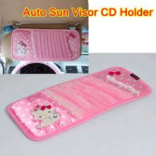 kitty armrest cushion pink bow pillow cushion consoles auto