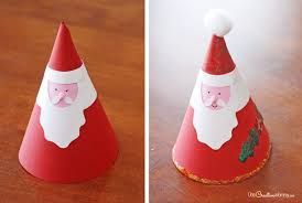 irresistible santa claus craft onecreativemommy
