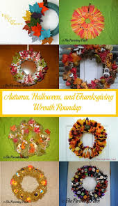 Halloween Eyeball Wreath by Autumn Halloween And Thanksgiving Wreath Roundup Parenting Patch
