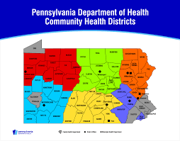 Map Pennsylvania Counties by Influenza Vaccine Finder
