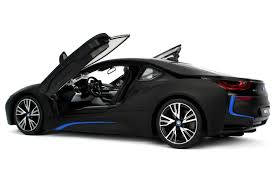 bmw supercar black amazon com radio control model car 1 14 bmw i8 authentic body