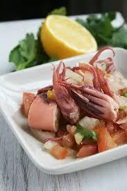 cuisiner le calamar salade de calamars à la grecque cette cuisine que j aime