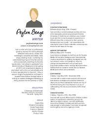 Copywriting Resume Peytonbenge Resume
