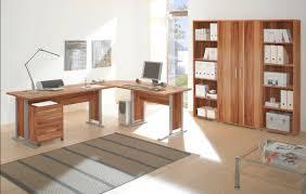 Kleiner Eckschreibtisch Office Line Winkelkombination Walnuss