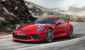 porsche carrera back 2018 porsche 911 gt3 revealed price specs and a manual transmission