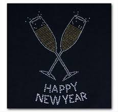 new year t shirts happy new year rhinestone t shirt