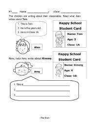 essay writing worksheets grade   English teaching worksheets Guided writing ESL
