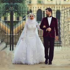 aliexpress com buy saudi arabic high neck muslim wedding dress