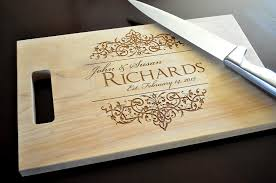engraved cutting boards personalized cutting board laser engraved 8x14 wood cutting