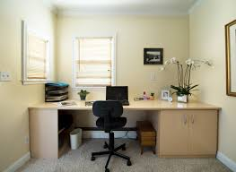 simple home office home design ideas