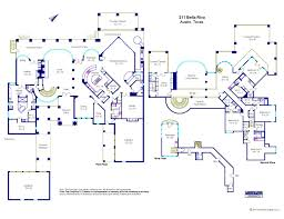 floor plan graphics 211 bella riva drive a luxury home for sale in austin texas